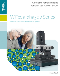 Cover WITec alpha300 Brochure